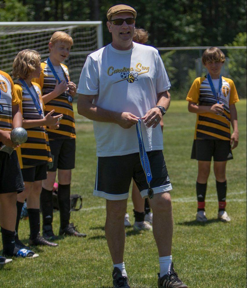 Carolina Sting Coach Matt